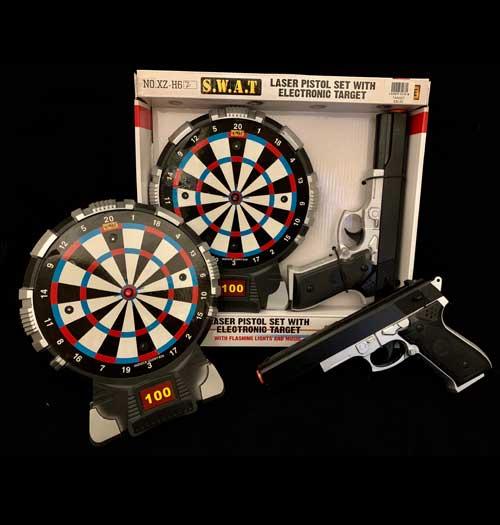 Laser Gun & Target Set