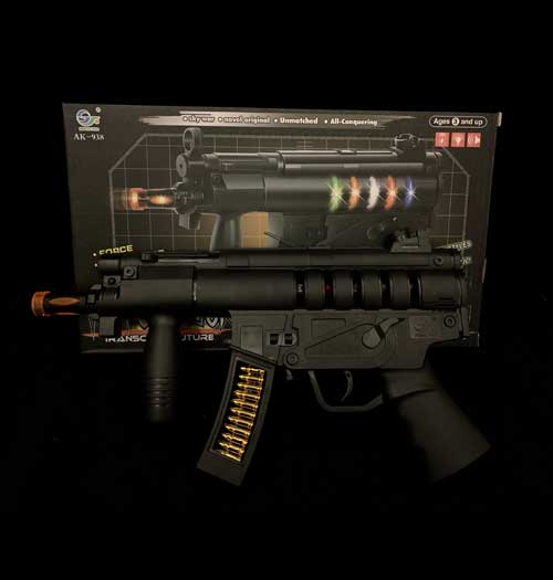 MP5 Toy Gun with lights and sound